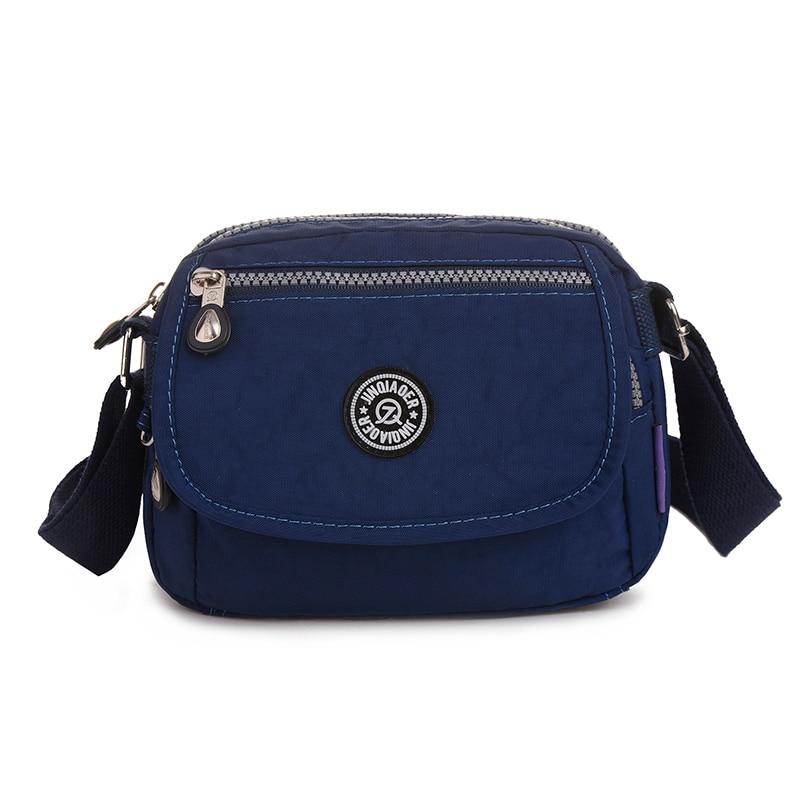 Jinqiaoer Waterproof Nylon Women Messenger Bags Small Purse Shoulder Bag Female Crossbody Handbags High Quality Bolsa Tote