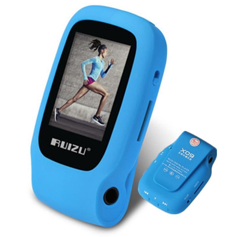 Original RUIZU New Sport Clip Mini MP3 Player 4GB Storage With 1 5 Inch Screen Can