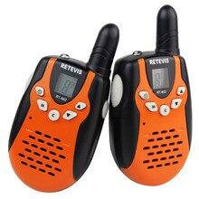 2 шт. Мини Walkie Talkie Retevis УВЧ 446 МГц RT-602 0.5 Вт для Малыша Дети ЖК-Дисплей Фонарик VOX С Зарядным устройством A7120