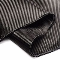 High Quality 127x91cm Carbon Fiber Cloth Fabric 2x2 Twill 50 3k 0.25mm Thickness Carbon Fiber for Commercial Industry Repair