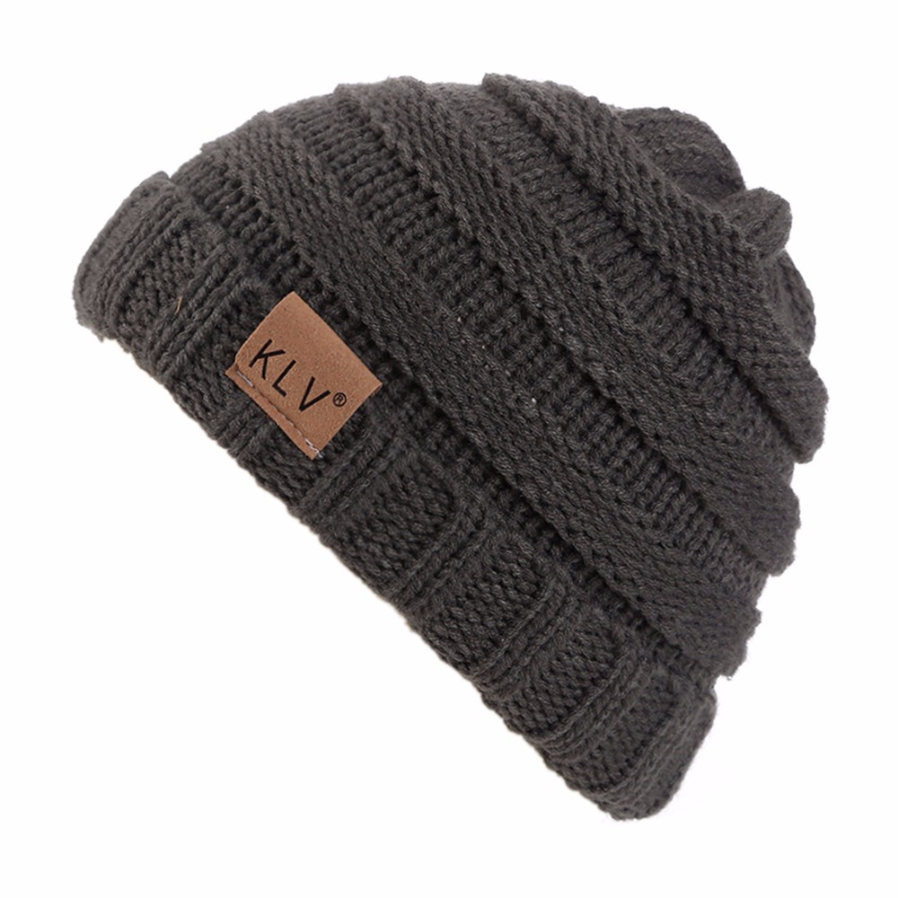 Boy Girls Warm Hat Crochet Winter Wool Knit Ski Beanie Skull Slouchy Caps Hat For 2-8 years old childen openwork crochet slouchy acrylic knit beanie hat