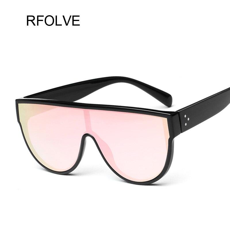 8235bad3e7 RFOLVE Square Vintage Oversized Sunglasses Women Fashion G Brand Designer  Black Red Sun Glasses Ladies Shades UV Goggles R8583-in Sunglasses from  Apparel ...