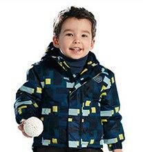 Garçons coupe-vent veste filles polaire ski veste d'hiver, enfants survêtement coupe-vent imperméable à l'eau, enfants imperméable de
