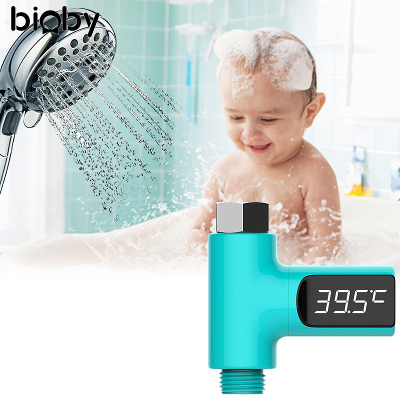 High Quality Baby Shower Water Thermometer LED Digital Display Newborn Bathing Bath Care Safety Use For Bathroom Water Faucet