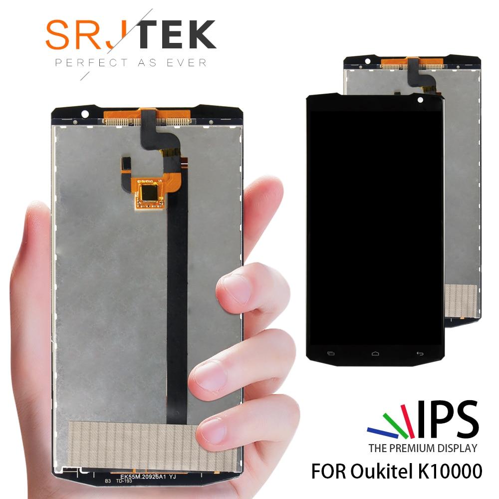 SRJTEK For Oukitel K10000 LCD Screen Display with Touch Screen Digitizer Glass Sensor AssemblySRJTEK For Oukitel K10000 LCD Screen Display with Touch Screen Digitizer Glass Sensor Assembly