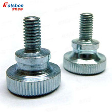 3000pcs DIN464 M2*2.5/3/4/5/6/8/10 Knurled Thumb Screws With Collar Knurling Manual Adjustment Screw Bolt Factory Wholesale