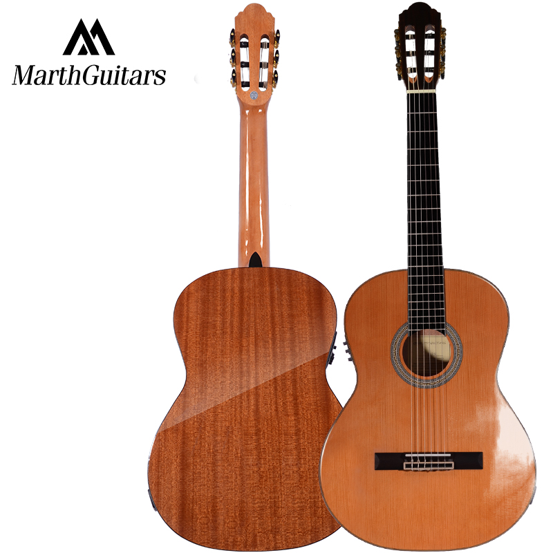 Korean Pine Top Sapele Back and Sides Rosewood Fingerboard Classic Guitar 39 Classic Guitarra Free Shipping spruce top sapele back and side rosewood fingerboard acoustic guitar 34 acoustic guitarra free shipping