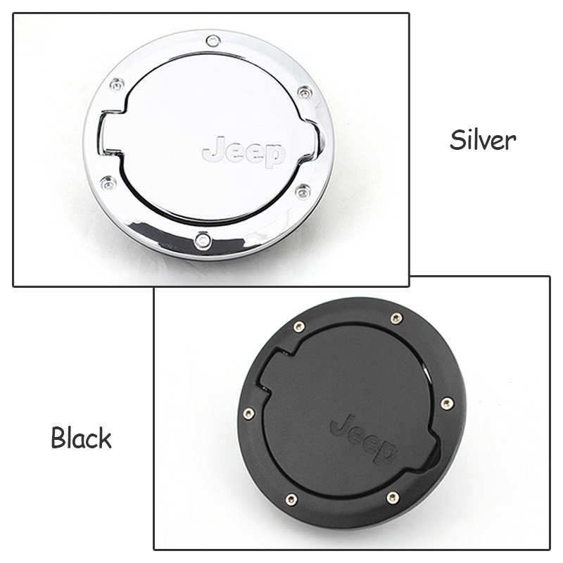 backar auto car aluminum alloy fuel tank cap fuel door gas tank cover  car styling accessories