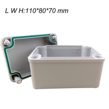110*80*70mm 1 pcs project box plastic desk-top electronic ABS Enclosure Instrument Case waterproof IP67 housing case 250 150 130mm ip67 waterproof plastic electronic project box w fix hanger plastic waterproof enclosure box housing meter box