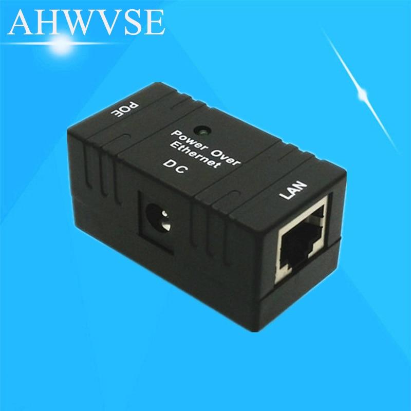 10/100 Mbp Passive POE DC Power Over Ethernet RJ-45 Injector Splitter Wall Mount Adapter For IP Camera LAN Network 1PC средство для чистки барабанов стиральных машин nagara 5 х 4 5 г