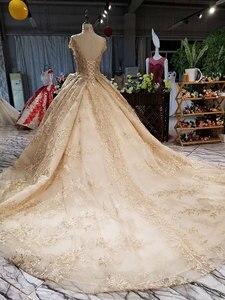 Image 5 - AIJINGYU robe de mariée près de moi, en Tulle, pas cher, petite taille, robe de mariée impériale, robe de mariée impériale, décontracté