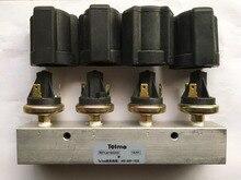 Autobús parte Telma Retarder JC180200 conjunto del interruptor de presión de aire con cuatro engranajes para Yu tong de autobús y autobús zhongtong