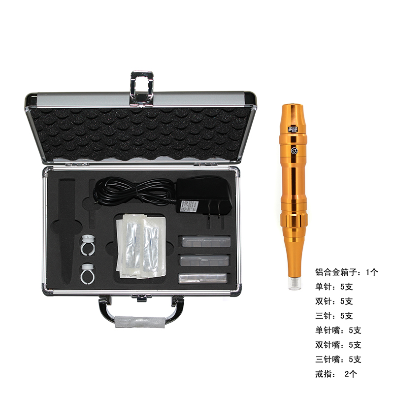 ФОТО Free Shipping  Tattoo kit tattoo machine high quality 35000R/M Profession Permanent Makeup machine eyebrow lips pen 2600336-4