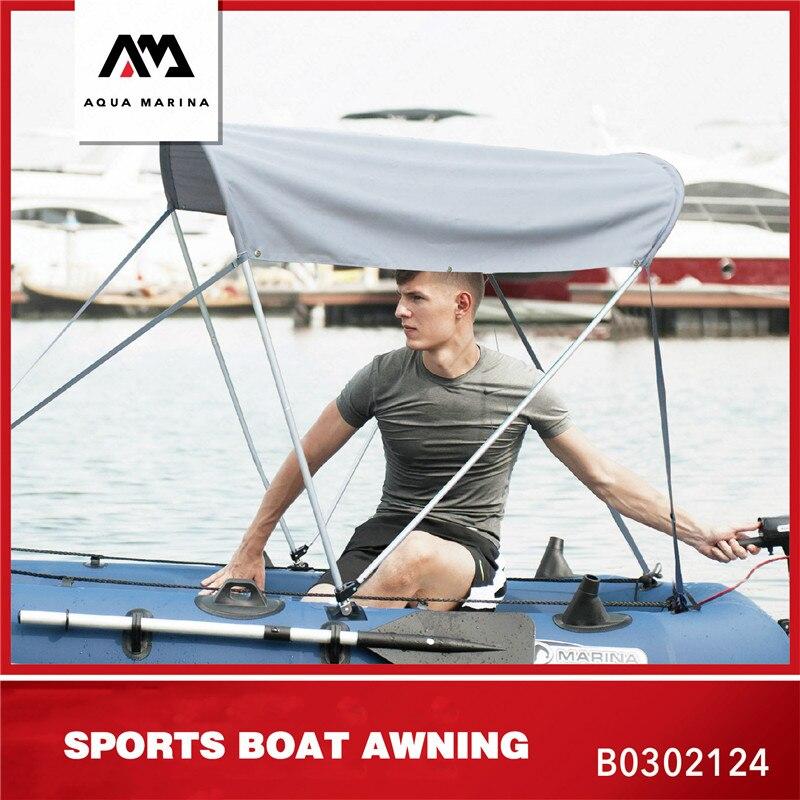 Accessoires de Kayak de bateau gonflable AQUA MARINA abri de Kayak de parasol de bateau utilisation d'auvent de Protection de soleil pour BT-88891/92/92