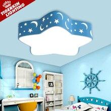 New! детская комната Освещение Потолка Лампы Для Детей Гостиная Спальня Свет Современный Привело Потолочные Светильники Столовая освещение Abajur