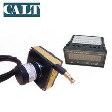 CALT 3000mm draw wire encoder cable motion transducer with 6 Digital pulse counter raster table HB961 taiwan fotek we m2 sensors draw wire digital length counter meter