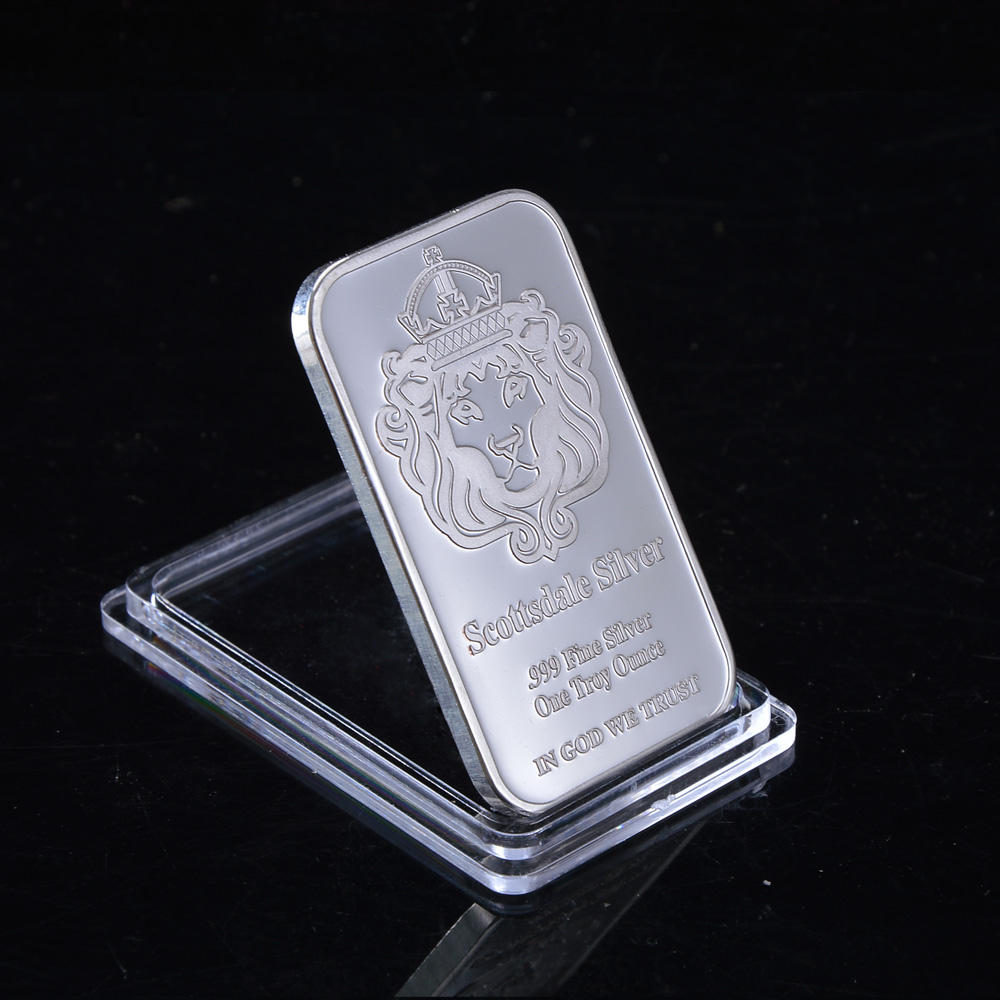 Non Magnetic Scottsale 999 Fine Bullion With Serial