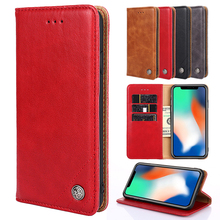 For Motorola Moto G7 G6 G5 G5S E5 G4 C Plus Play Luxury Cover PU Leather MOTO One Power X4 Slots Flip Back case
