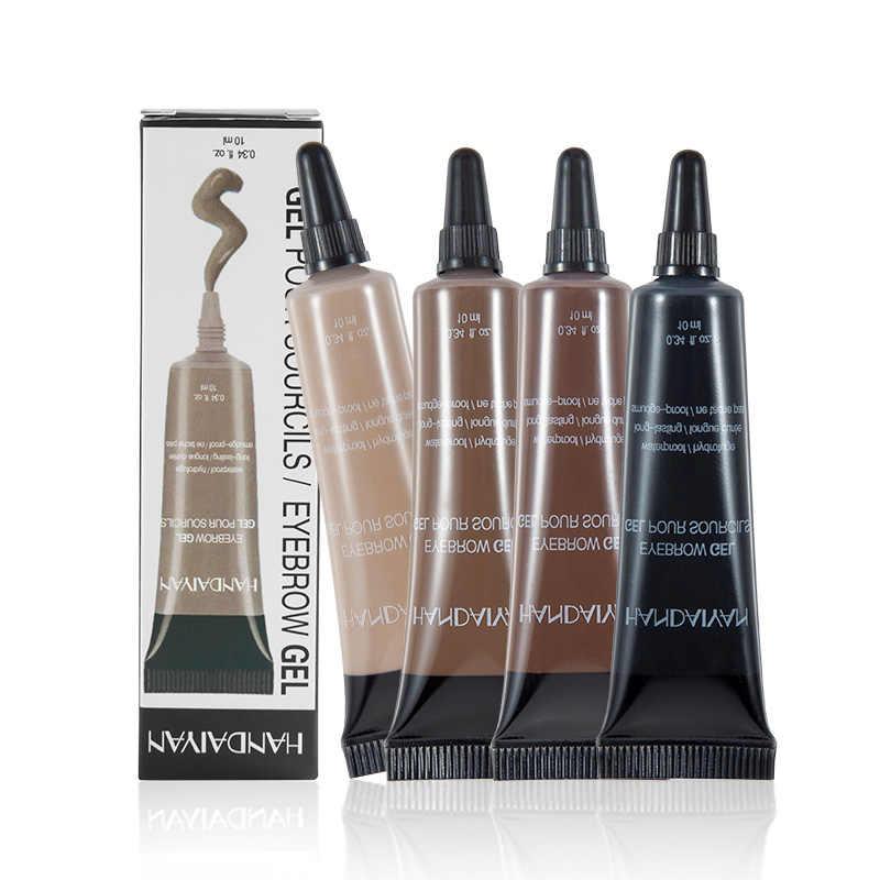 HANDAIYAN гель для бровей + ручка для бровей Водостойкий карандаш для бровей Тату ТИНТ хна для бровей Гель maquillaje профессиональный макияж