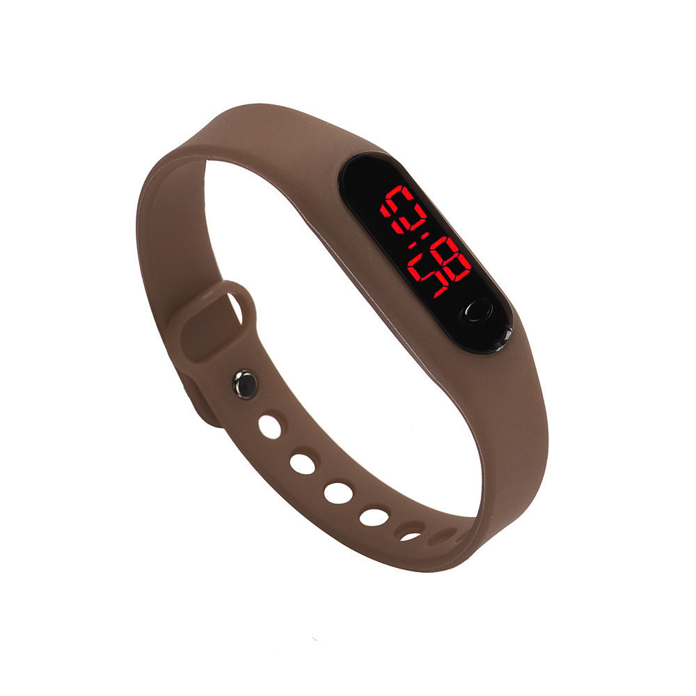 2018 New Design Fashion Men's Digital Watch Classic Casual Silicone Band Led Outdoor Sports Wristwatch