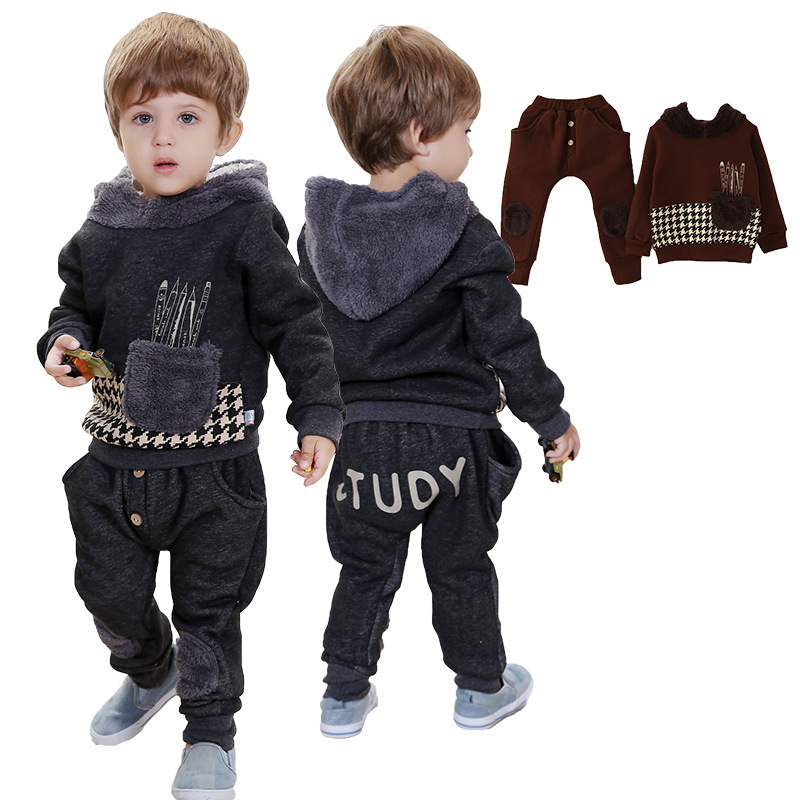 Anlencool New Promotion Roupas Infantil Meninas Free Shipping Winter High Quality Baby Clothes Suit Newborn Two-pieces Clothing