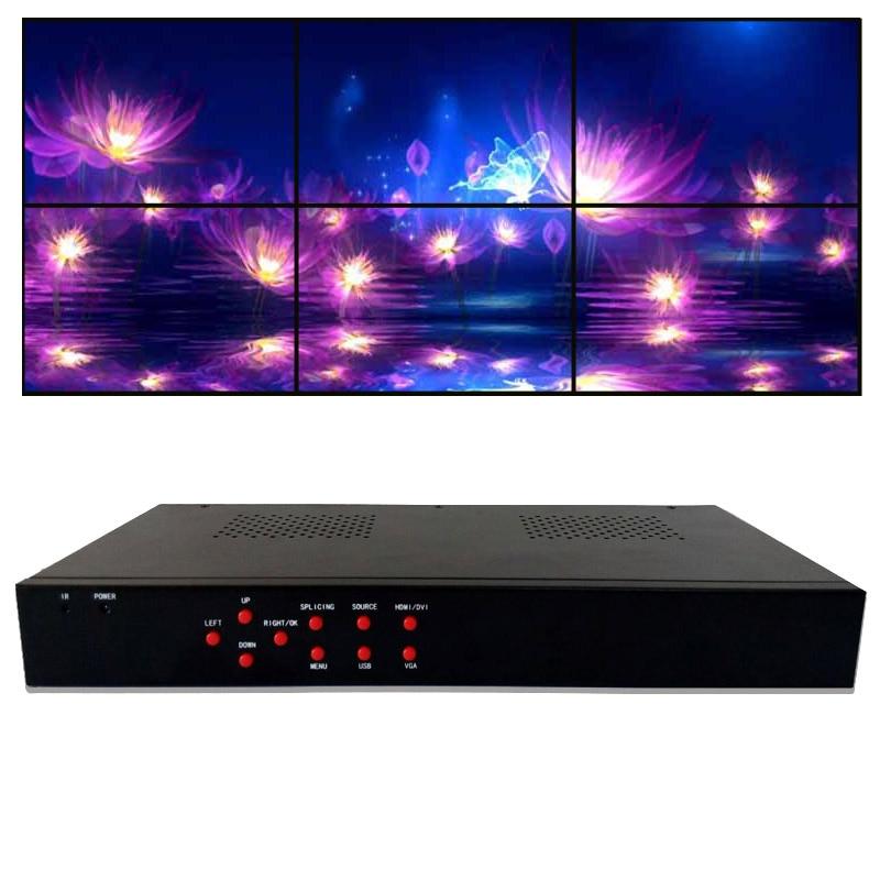 diy video falvezérlő 2x3 monitorfali - Otthoni audió és videó