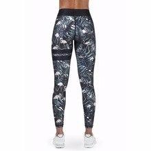 2018 New Sexy Print Sport Leggings Women High Waist Legging Fitness Yoga Pants Gym Clothing For