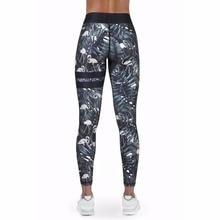 Polyester 2018 New Women s Sportwear Leggins High Waist Push Up Fitness Yoga Pants Elastic Workout