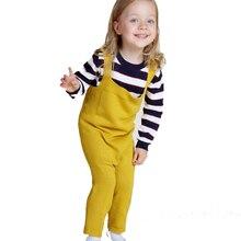 Chaude Automne garçons Filles Tricoté salopette bébé coton tricoté salopette enfant Bretelles pantalon enfants pantalon 4 couleur livraison gratuite