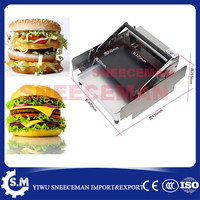 Comercial elétrica Máquina Hamburger Hamburger Máquina Secador de aço inoxidável Carta máquina