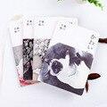 かわいい猫ブランクヴィンテージスケッチブック日記描画水彩画ノートブック紙 80 枚事務学用品のギフト