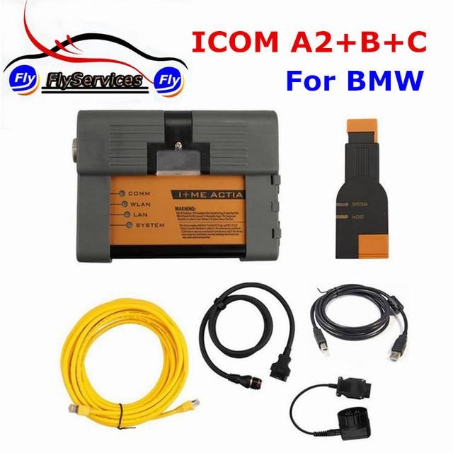 New Arrival For BM ICOM A2+B+C Diagnostic & Programming Tool Without Software ICOM A2 Second Generation of ICOM High Quality