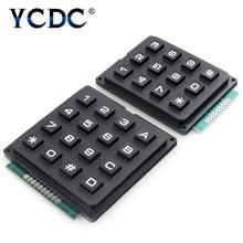 цена на 1PC 3x4 4x4 Keys Switch Control Matrix Array 12/16 Keypad Keyboard Module 16-Buttons Board Arduino Program Signal Control