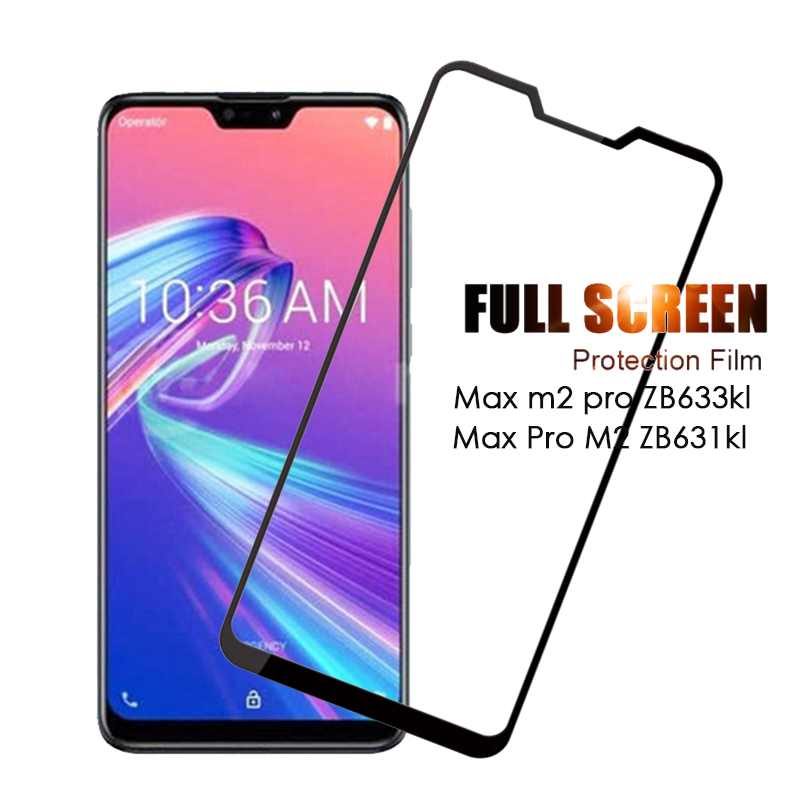 Protective Glass Max M2 Pro ZB633kl Film Tempered Glas On The For Asus Zenfone Max Pro M2 ZB631KL M2pro M 2 Maxpro Glass Film