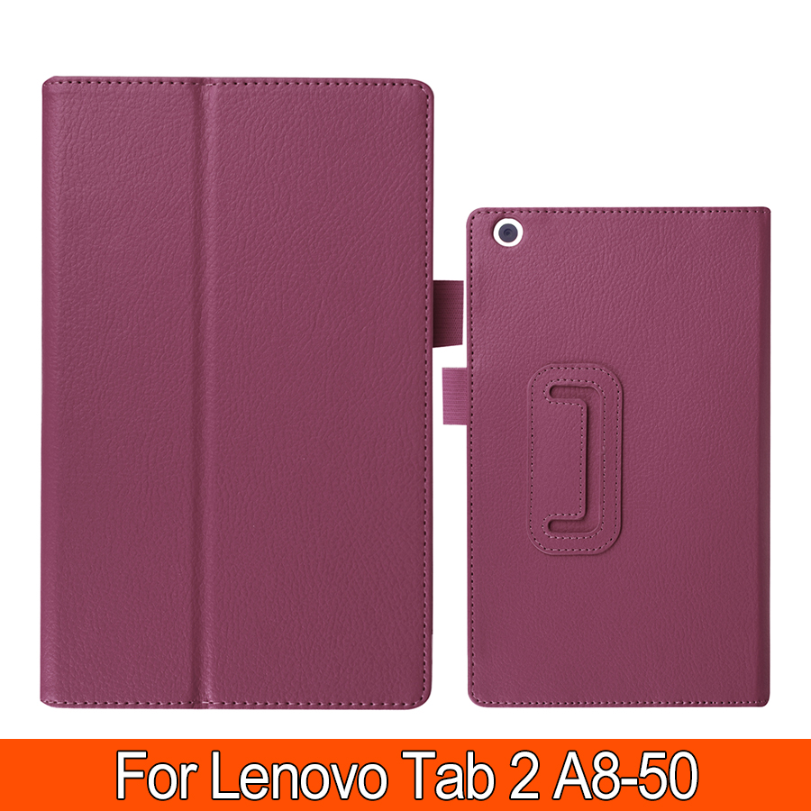 Fashion Case for Lenovo Tab 2 A8 8.0 PU Leather Protective Cover For Lenovo Tab 2 A8-50 A8-50F A8 50 8 Tablet CASE