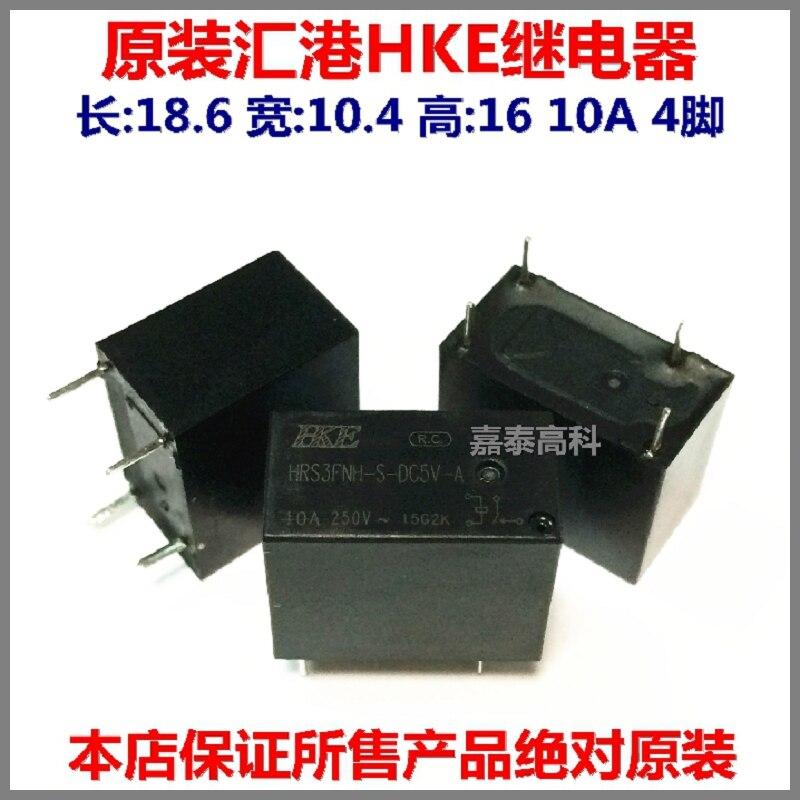 Free shippingOriginal Harbour relay type HRS3FNH-S-5V-A 5VDC DC5V 10A 4 feet to ensure