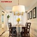 Luces colgantes modernas lámparas América Art decó bola de vidrio colgante lámpara de cocina lámparas de techo