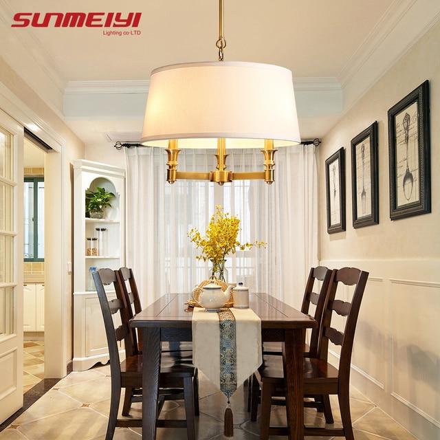 Modern Pendant lights lamps America Art Deco glass ball Hanging Lamp Kitchen Light Ceiling Fixtures