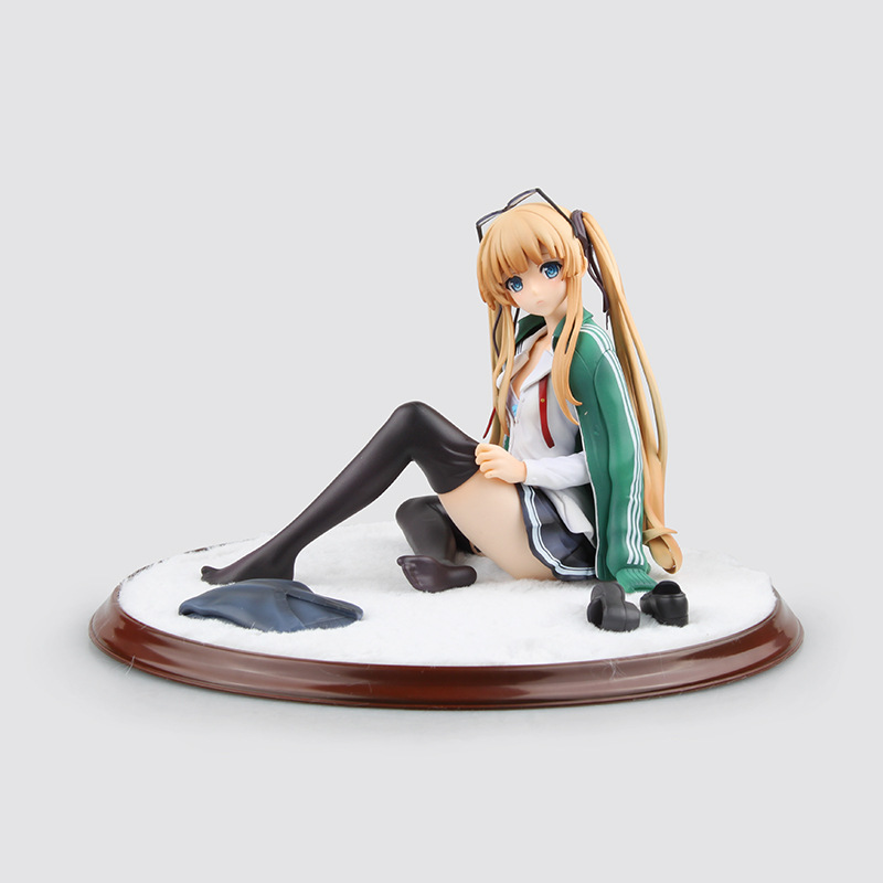 <font><b>Anime</b></font> Saenai Heroine no Sodatekata <font><b>Sexy</b></font> <font><b>Figure</b></font> Eriri Spencer Sawamura PVC Action <font><b>Figure</b></font> Collectible Model Toys <font><b>Doll</b></font> 12cm image