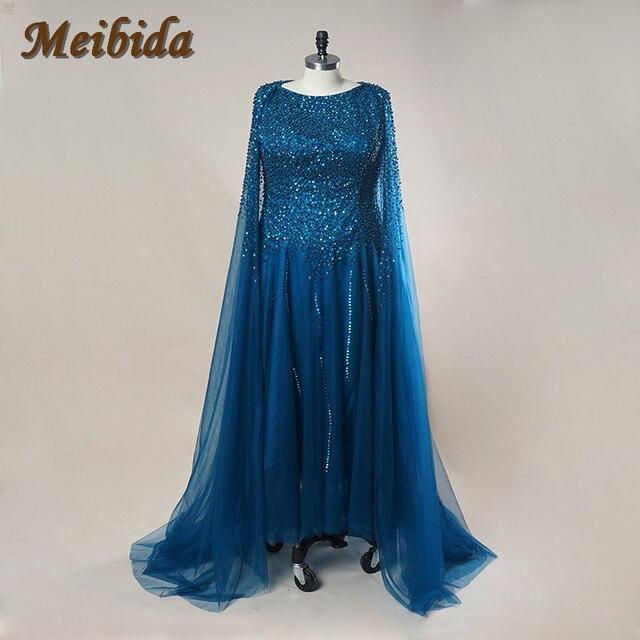 Lebanon Custom Women Prom Crystal Saudi Arabia Long Arab Evening Dresses  2015 Sleeved Abaya Dress Dubai Kaftan Marocain Aramex 4b1d8b88817e