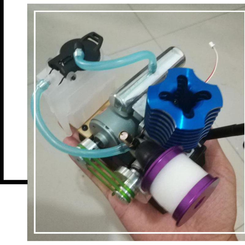 Methanol generator fuel engine small micro internal combustion engine oil moving model educational toy mini engine