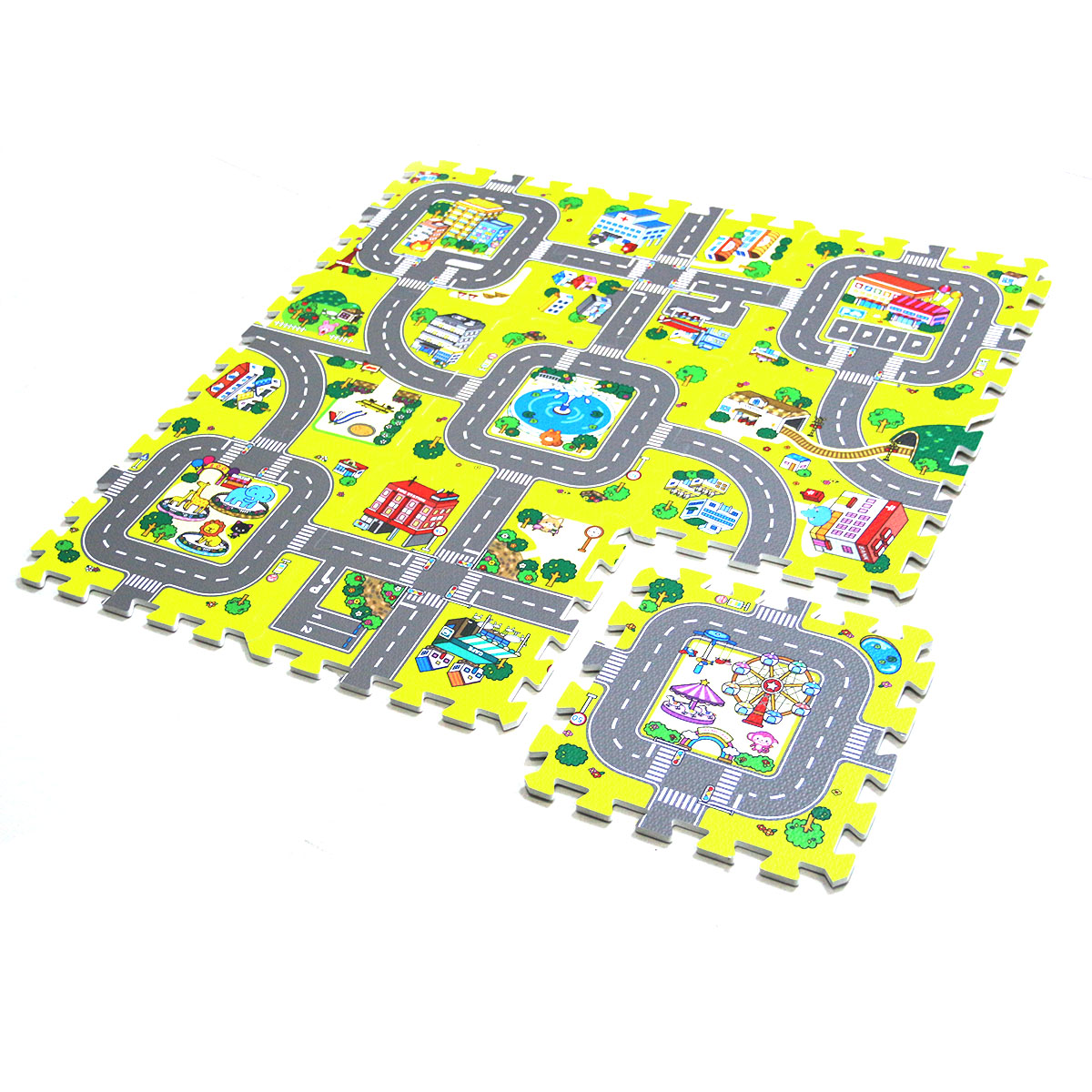 9pcs/lot Eva Activity Mats Foam Baby Play Mat Carpet Puzzle for Children Kids Infant Foldable Play Gym Crawling Rug Playmat baby play mats 2 cm thick kids rug developing mat for children carpet for children rugs baby mats toy for baby gym game eva foam