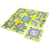 9pcs/lot Eva Activity Mats Foam Baby Play Mat Carpet Puzzle for Children Kids Infant Foldable Play Gym Crawling Rug Playmat