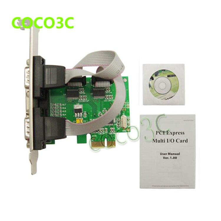 2 + Serial – o Controller Pci-express para Porta com Rs232 + Impressora Pcie Paralela Card Adaptador Lpt Port Combo 1 i