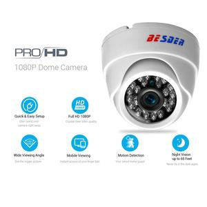 Image 2 - BESDER 2.8MM Wide Angle IP Camera 720P/1080P P2P H.264 Onvif Small CCTV Indoor Dome Surveillance Video Camera RTSP 48V POE XMEye