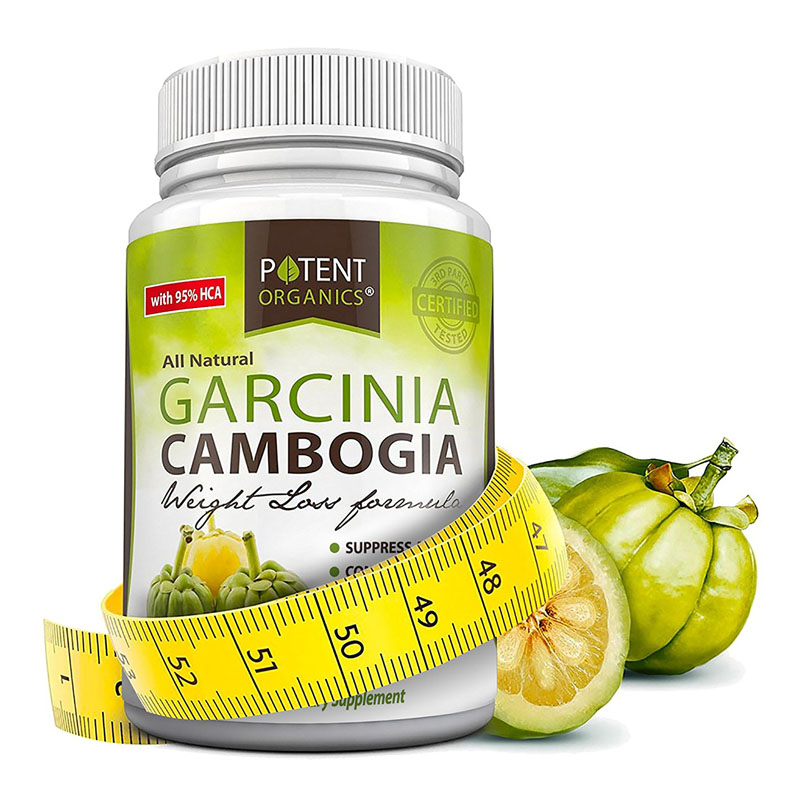 Free Shipping American original Garcinia Cambogia Extract - 95% HCA 60 pcs garcinia cambogia extract powder 99% 1000g weight loss relieve pressure get a better sleep hot sale free shipping