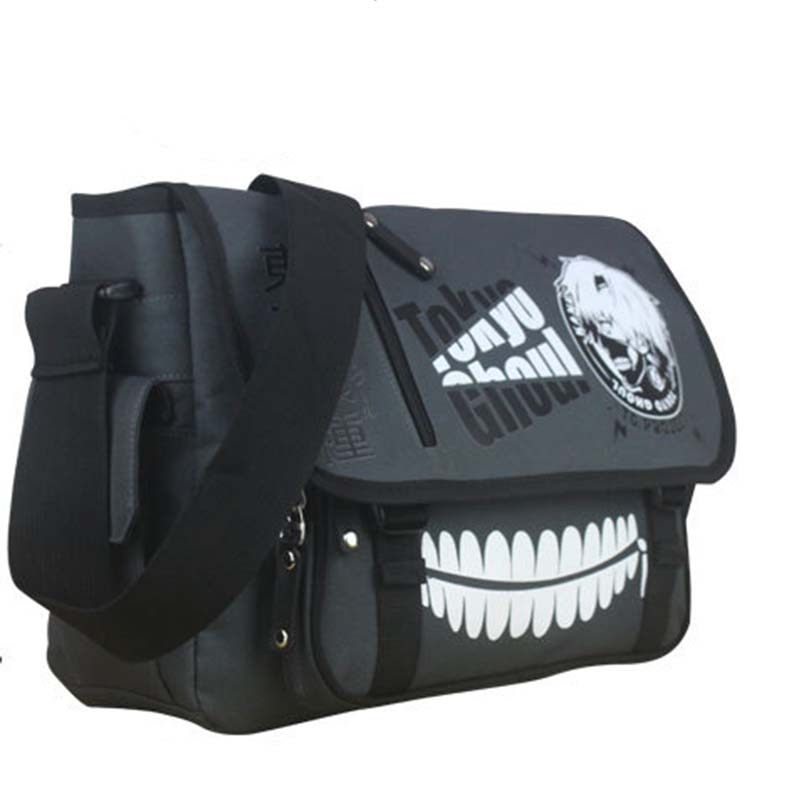 Anime Tokyo Ghouls Students School Bag Large Capacity Cosplay Messenger Shoulder Bag Laptop Travel Bags for