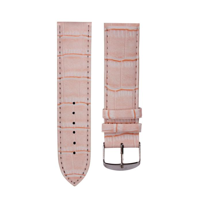 Watchband 16mm Leather band High Quality Soft Sweatband Leather Strap Steel Buckle Wrist Watch Band