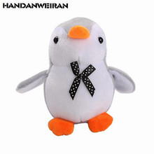 1PCS Mini Penguin Plush Toys Small Pendant Creative Cartoon Down Cotton Penguins Stuffed Toy For Kids Hot Sale 11CM HANDANWEIRAN
