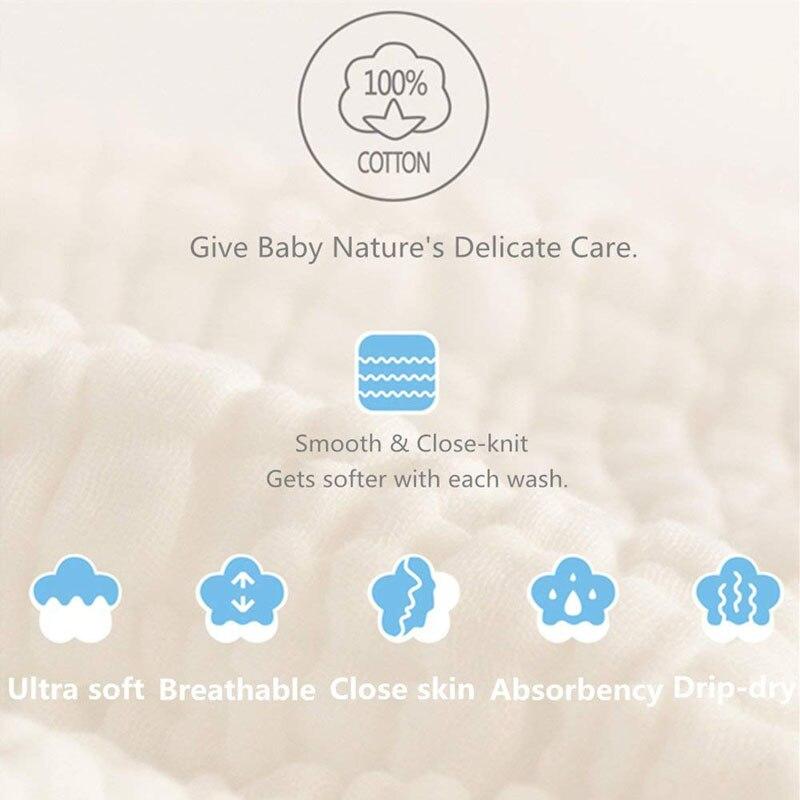 Handtücher 3 Paket 10x10 Zoll Musselin Waschlappen Weiche Neugeborenen Baby Gesicht Handtuch 100% Organische Baumwolle Baby Handtücher Baby Registry Als Dusche Geschenk Bad & Dusche Produkt